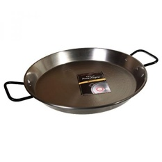 Garcima 13 1/2-inch Pata Negra Restaurant Grade Paella Pan, 34 Cm-Intl