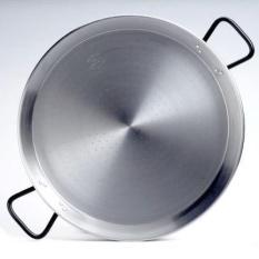 Garcima 22-inch Pata Negra Restaurant Grade Paella Pan, 55 Cm-Intl