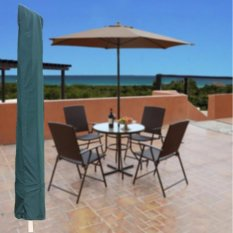 Toko Jual Garden Patio Parasol Payung Cover Bag Green Fit 7Ft Payung Draw String Leher Internasional