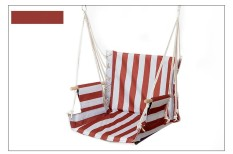 Taman Teras Porch Gantungan Katun Tali Berayun Kursi Kursi Hammock Swinging Kayu Luar Ruangan Dalam Berayun Kursi Kursi Seksi Penjualan- internasional
