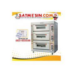 Gas Oven 3Deck 6Tray Getra RFL-36SS Garansi