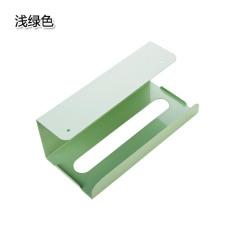 Model Jepang Lemari dapur di bawah model gantung rak tisu dapur dispenser tisu penyangga tisue Tidak Perlu Melubangi Besi Tempa Kotak tisu rak penyimpanan