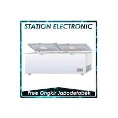 GEA Chest Freezer AB-1200-TX [1050 L/ Khusus JABODETABEK] - Putih]