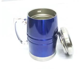 Gelas Minum Warna Mug Stainlees Steel