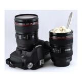 Spek Gelas Mug Lensa Kamera Canon Replica Stainless Camera Cup Lens Barang Unik Jawa Barat