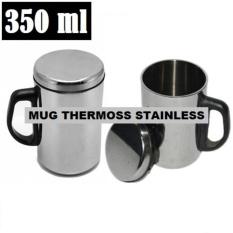 Gelas Mug Stainless Steel Vacuum Cup - 350ml / Gelas Kopi / Mug Thermos By Toko David.