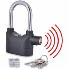 Gembok Alarm Anti Maling - Free Baterai Cadangan By Toko Kado Unik.