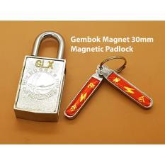 Gembok Kunci Magnet 30mm Magnetic padlock Gerendel Koper Tas Rumah Pagar Pintu