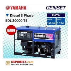 Genset 3 PhaseYAMAHA17.000 Watt - EDL 20000 TE