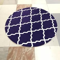 Pola Geometris Washable Baby Play Floor Mats Modern Cetak Komputer Kursi Mat Anti-slip Karpet untuk Kamar Tidur 120 Cm -Intl