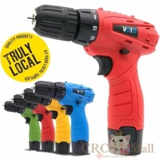 Jual Germany Voto East Tools 12V Cordless Drill Electric Screwdriver Red Intl Crc Ori