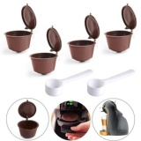 Jual Getek 4 Reusable Coffee Capsules Cup Filter For Dolce Gusto Refillable Brewers Nescafe Intl Getek Murah
