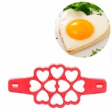 Jual Getek Non Stick Pancake Pan Flip Perfect Breakfast Maker Egg Omelette Flippin Tools 10 Heart Intl Tiongkok