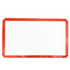 GETEK Silicone Fiberglass Non Stick Baking Mat Lembar Tray Oven Liner Rolling Kue Aman (60*40 Cm) -Intl