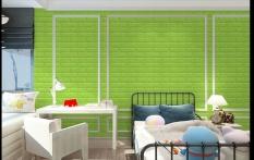 Gethome Modern 3D Brick Grain Wallpaper Bedroom Living Room Seft Adhesive Wall Sticker Background TV Decor(Size:30cmx60cm) - intl