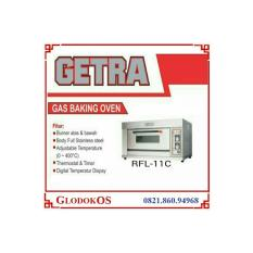 Getra oven gas RFL 11C - 1 Deck 1 tray
