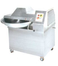 Getra Qs-630 Bowl Cutter Mesin Pemotong Daging-Silver