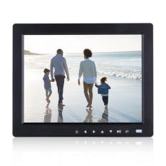 Hadiah 10 Inch HD TFT LCD Gambar Digital Album Foto Bingkai Pemutar Musik Video Hitam US