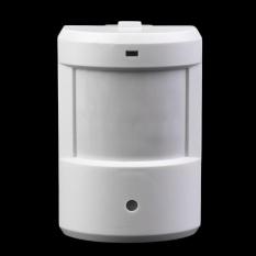 Hadiah Patroli Jalan Raya Garasi Inframerah Bel Pintu Nirkabel Alarm System Motion SensorWhite-Intl