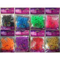 Spesifikasi Girlie Girlz Tm 3224 Solid Colour Rubber Loom Band Clip Refill Pack Small Murah
