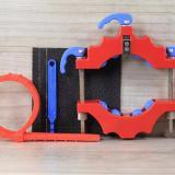 Jual Alat Pemotong Botol Kaca Baru Kerajinan Toples Model Kit Memotong Mesin Alat Pemotong Kaca Merah Di Tiongkok