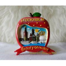 Gloria Bellucci - Magnet Kulkas souvenir stockholm sweden