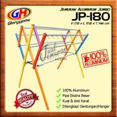 Glory Home Jemuran Baju Jumbo Aluminium 180 cm Hanger (9 Palang)