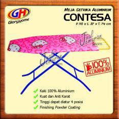 Glory Home Meja Setrika Aluminium Fleksibel Murah - Pink