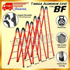 Harga Glory Home Tangga Aluminium Lipat Engsel Otomatis 150 Cm Yang Murah