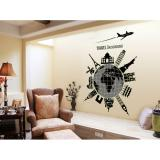 Harga Glow2101 Wall Sticker Premium Motif Love Travel Glow In The Dark Ukuran Jumbo 60 Cm X 90 Cm Wall Sticker Original
