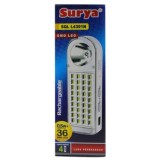 Toko Gogo Grosir Surya Lampu Emergency Sql L4301N Light Led 36 Smd Senter 5W Super Led Rechargeable 4 Hours Surya Online