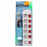 Gogo Grosir Uticon Stop Kontak Kabel 6Lubang St1682Sw Stpk 6Lb 6Sw Original