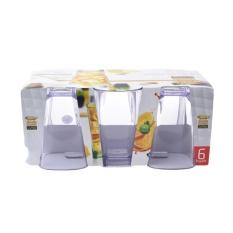 Spesifikasi Golden Dragon Gelas Kotak 325Ml Isi 6 Pcs Transparant Lengkap