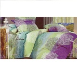 Spek Golden Eterna Bed Cover Set Motif Fa Cai Tree King Size Multicolor Jawa Barat
