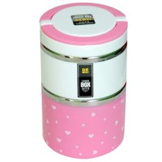 Berapa Harga Golden Lunch Box Susun 2 Pink Golden Di Indonesia