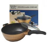 Jual Golden Pan Cut Lien 32Cm Wok Satu Set
