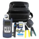 Spek Baik Fiber Optic Ftth Alat Kit Dengan Fc 6S Fiber Cleaver Dan Optical Power Meter 5 Km Hitam Biru Intl