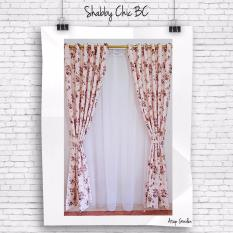 Tips Beli Gorden Minimalis Blackout Shabby Coklat Gordyn Tirai Curtains Yang Bagus