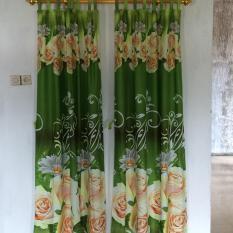 Toko Gorden Pintu Green Rose Uk 120X200 Hijau Dekat Sini