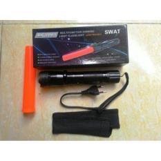 Ulasan Gos Senter Swat Led Serbaguna Laser Merah Setrum Kejut Untuk Pertahanan Diri
