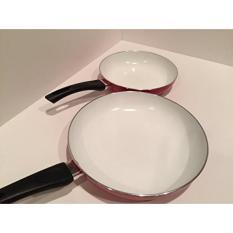 Gpl Chloris Peralatan Masak Keramik Ccc Alami Dan Tahan Lama Non Stick Ceramic Pan Penggorengan Cookware Set 2 Pieces 8 Inch 10 Inch Merah Kapal Dari Amerika Serikat Intl Oem Diskon