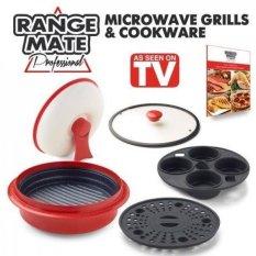 GPL/Range Mate Pro Antilengket Microwave 5-In-1 Grill Pot/PAN Cookware Set