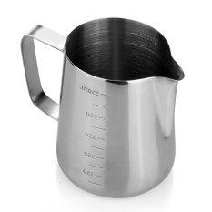 Review Grandmise 600 Ml Susu Stainless Steel Espresso Kopi Mengukur Buih Kendi Terbaru
