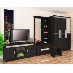 Toko Jual Graver Furniture Lemari Pakaian 3 Pintu Meja Rias Meja Tv Paket Super Hemat
