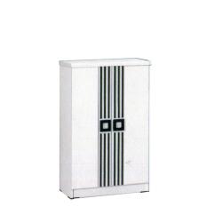 Graver Furniture Rak Sepatu SR 2536 - Putih/Hitam