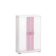 Graver Furniture Rak Sepatu SR 2556 - Putih/Pink