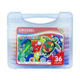 Spek Greebel Oil Pastel Crayon 36 Warna Greebel