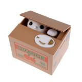 Harga Hemat Serakah Kucing Mencuri Koin Celengan Tabungan Otomatis Kotak Hadiah Mainan Putih