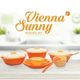 Harga Greenleaf Vienna Sunny Serving Set Ddc Vs 01 Orange Yang Murah