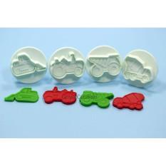 Rp 32.000. Griya Cetakan Cookies Cutter Fondant Construction Truck PlungerIDR32000